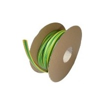 Diamètre 50.8/25.4 mm Bobine 30m vert-jaune