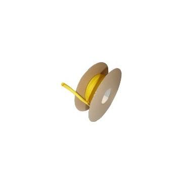 Diamètre 25.4/12.7 mm Bobine 30m jaune