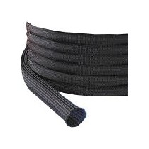 Gaine extensible Diamètre 3/6 mm Bobine 100 M noir