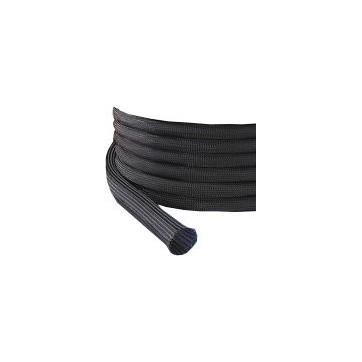 Gaine extensible Diamètre 18/28 mm Bobine 50 M noir