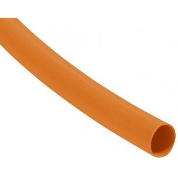 gaine thermorétractable orange diamètre 12.7/6.4 mm